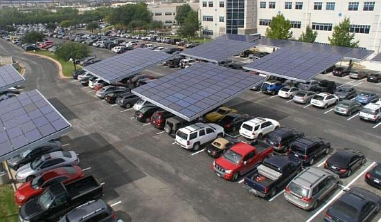 dell solar car paking