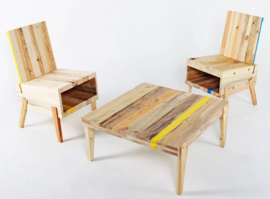 DERELICT- Recycled modern furnishings