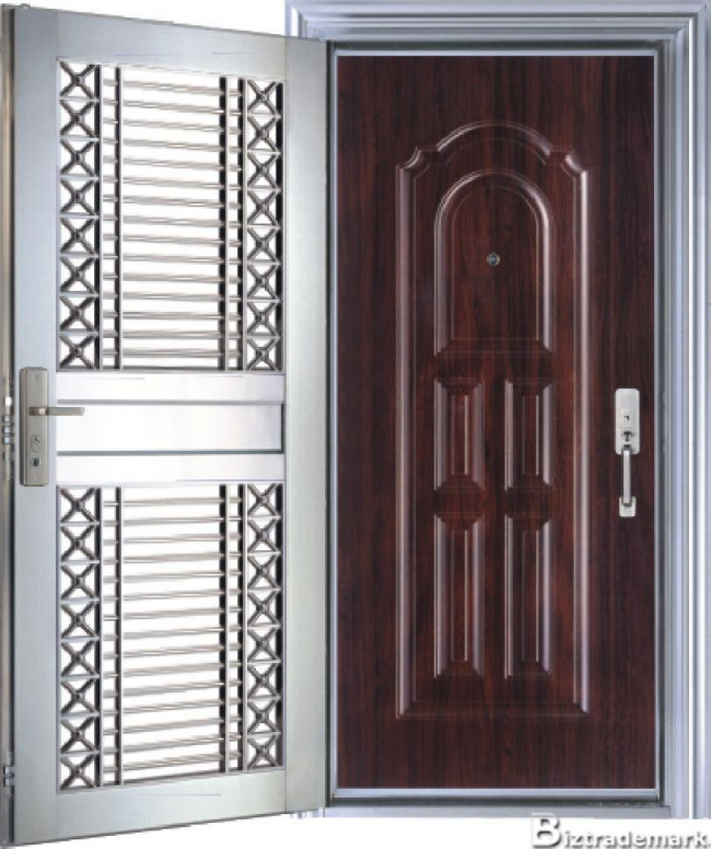 Most awesome recycled steel doors ecofriend for Metal exterior doors