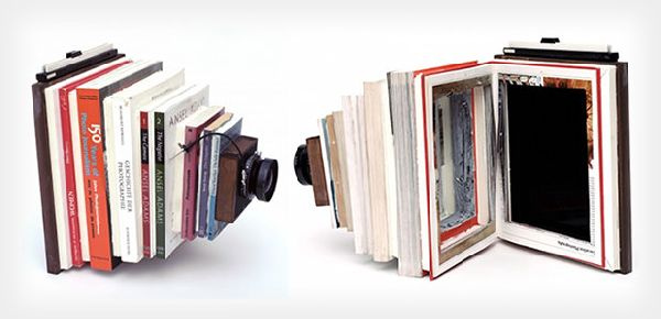 DIY Large Format Camera Created From Photography Books