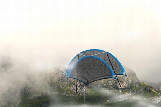 dropnet fog collector 5