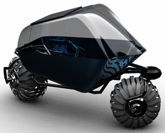 Off Road Electric Bike >> Dual Pod Transport: Off-roading two-wheeled maniac for ...