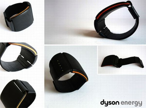 Dyson energy wrist charger