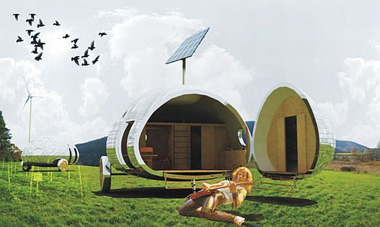 Eco friendly homes for sustainable living ecofriend for Green living homes