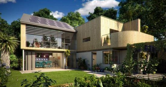 eco towns Eco-towns aim to provide between 5,000 and 15,000 new homes as well as  being affordable, well-designed, well-built and 'green', they will be well linked to.