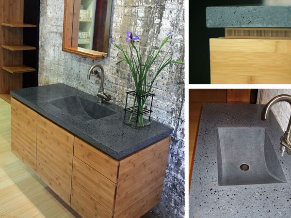 Eco-friendly bathroom cabinets