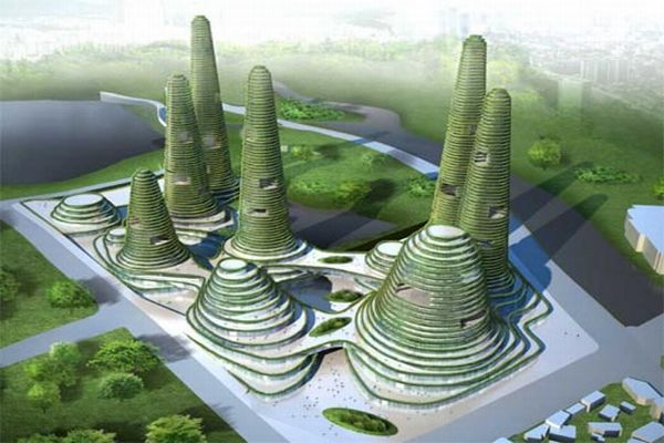 Roof Design Ideas: What's Next: Eco Friendly City Designs For Green