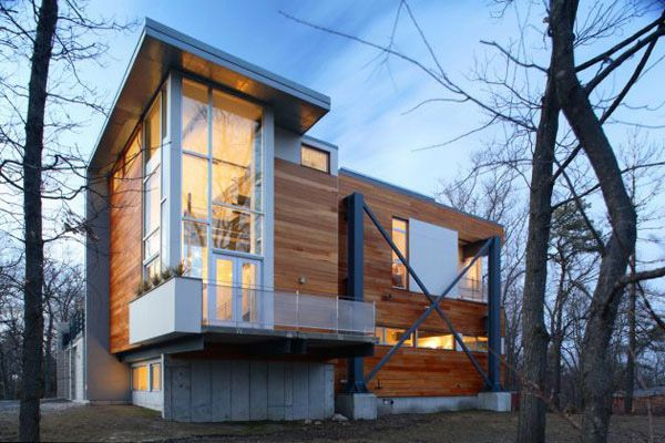 Eco-friendly homes built using recycled building materials