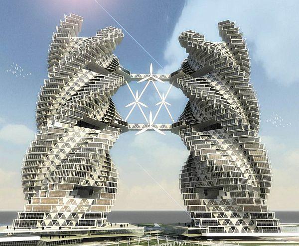 Eco Skyscraper concept