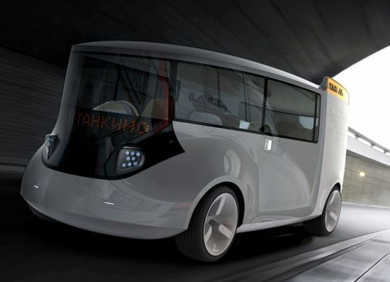 Zero Emission Taxi Concepts To Change The Way We Commute