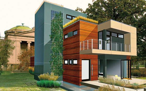 5 green tips to build eco friendly homes ecofriend for Green small house plans