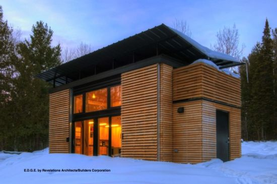 Gorgeous Edge House Concept Incorporates Sustainability In