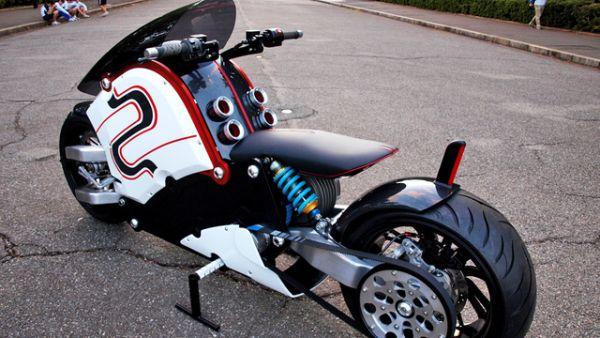 Zeecoo Custom E Bike Borrows Styling Cues From Futuristic