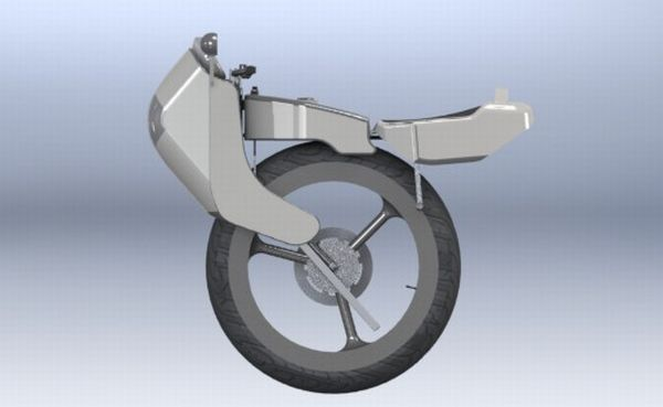 Electric engine Unicycle