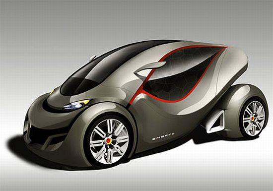 embryo car concept to deliver a cleaner greener future ecofriend. Black Bedroom Furniture Sets. Home Design Ideas