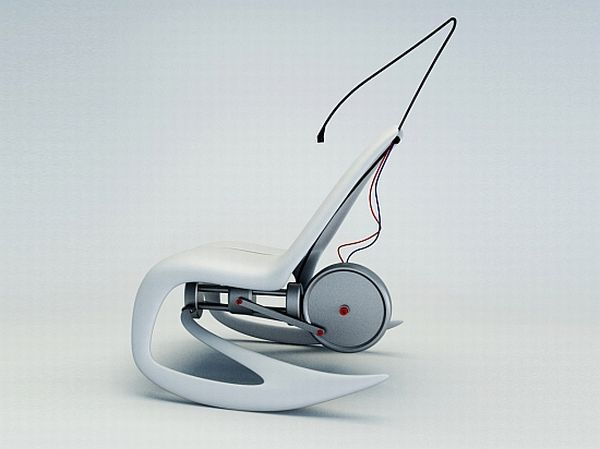 Energy-generating chair