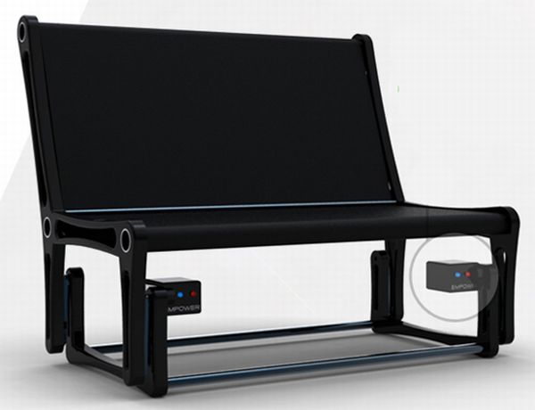 Energy Generating Rocking Chair