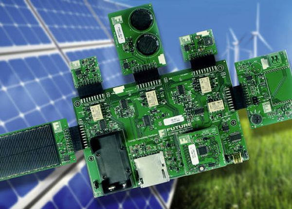 energy harvesting platform
