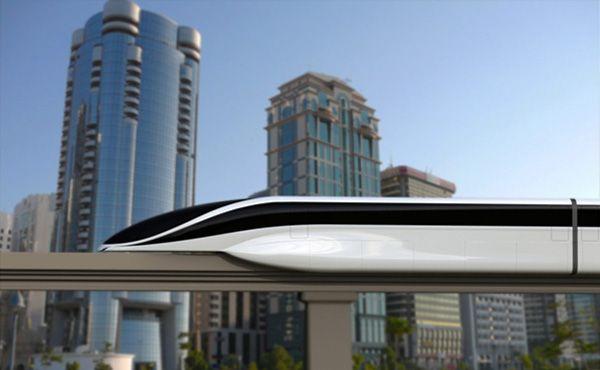 EOL maglev train concept