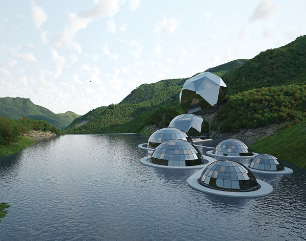 Architecture at its natural best a blend of ecological Architecture nature