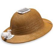 Solar Powered Cooling Hat With A Fan! – Ecofriend