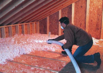 Eco friendly options for blow in insulation ecofriend for Fiberglass blowing wool insulation