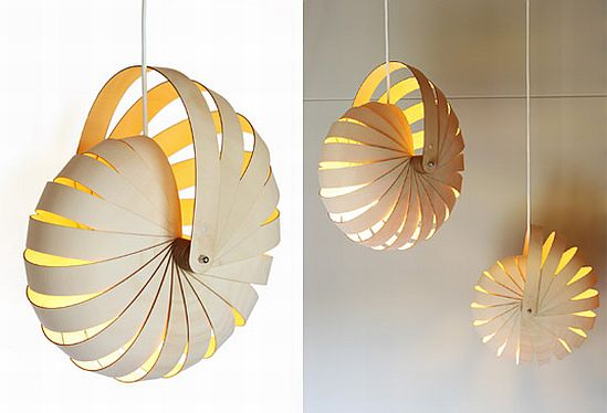 Flat Pack Hanging Lamps