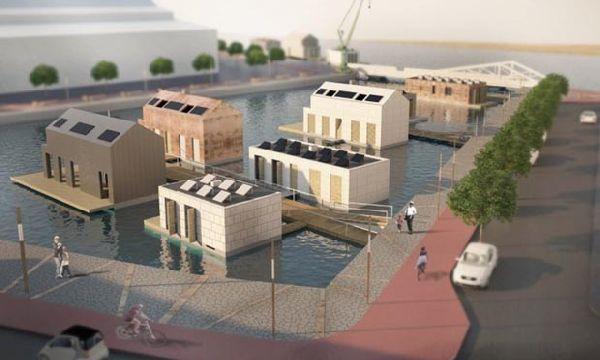 Floating Eco House by Monika Wierzba