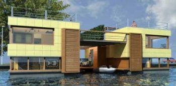 Flood resistant house model