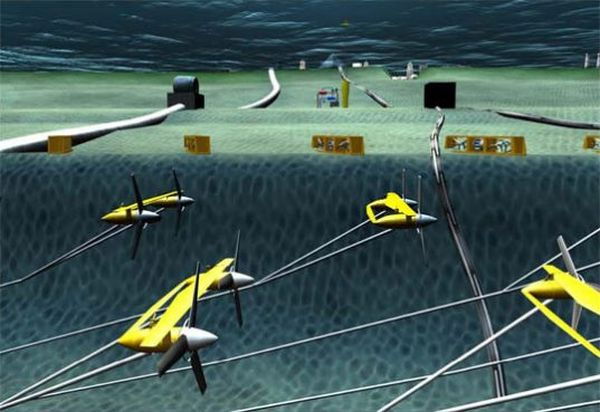 Florida Atlantic University's Underwater Ocean Turbines