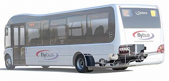 flybus flywheel energy storage system