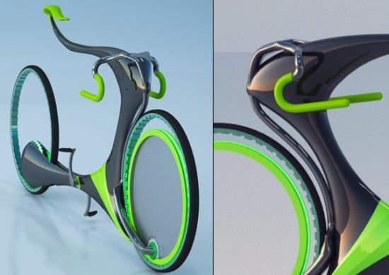 Flying Bike Concept Uses Magnetic Levitation To Challenge
