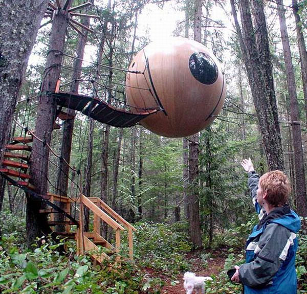 Treehouse Rental Vancouver Island