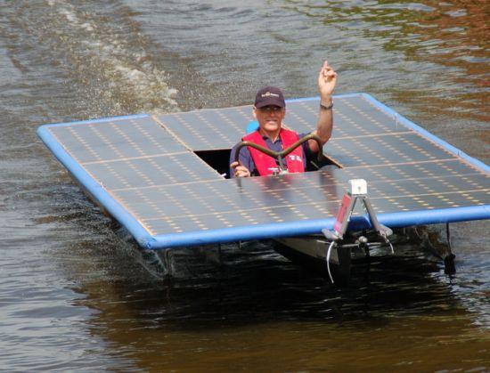 frisian solar challenge 2010 solar powered boat ra