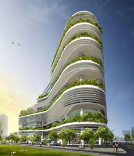 Beautiful Skyscrapers Adorned With Green Roofs Ecofriend