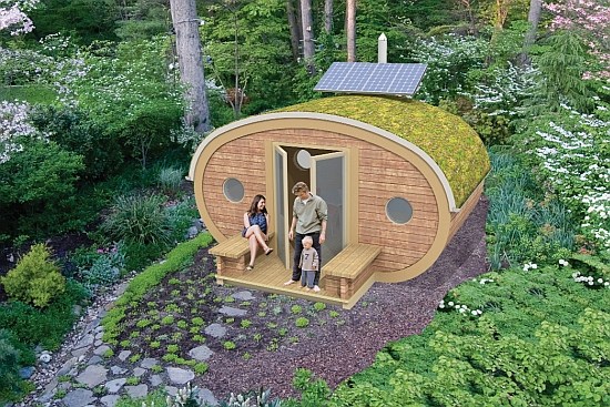 Eco Homes: Multipurpose Garden Ark makes off-grid living easy ...