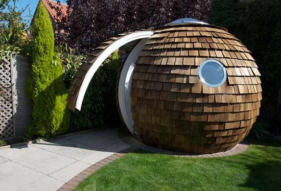 Archipod S Garden Pod Serves As A Sustainable Office In