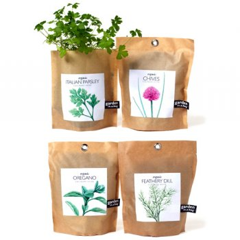 Plan Your Garden in a Bag With Organic Herbs Ecofriend