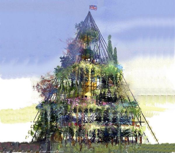 Gardener plans seven-storey structure for flower show
