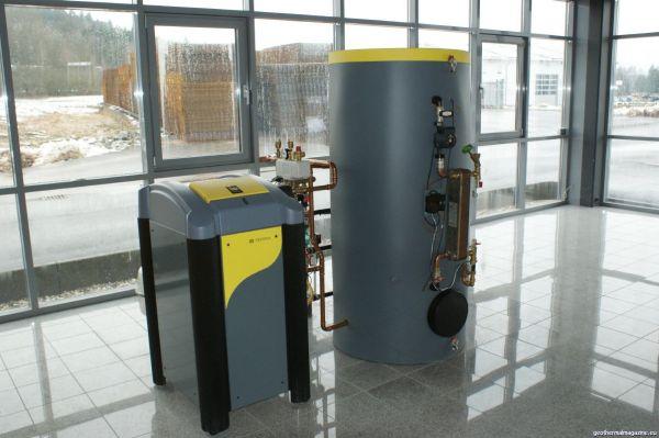 Geo-thermal heat pump