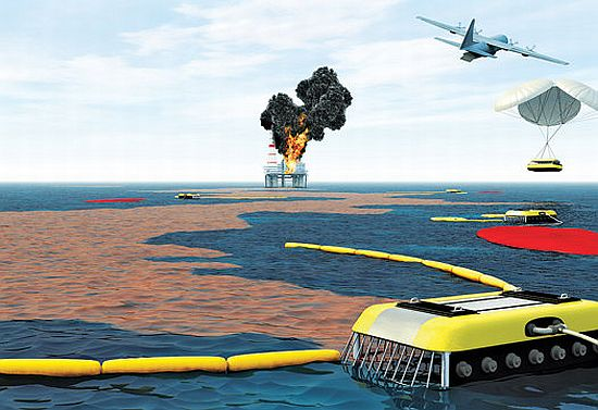 global response group aeros oil spill cleaning sys