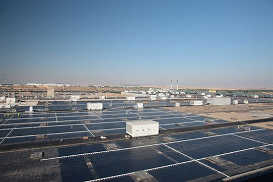 Gm To Install World S Largest Rooftop Solar Array At