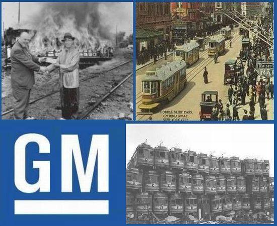 gm streetcar conspiracy
