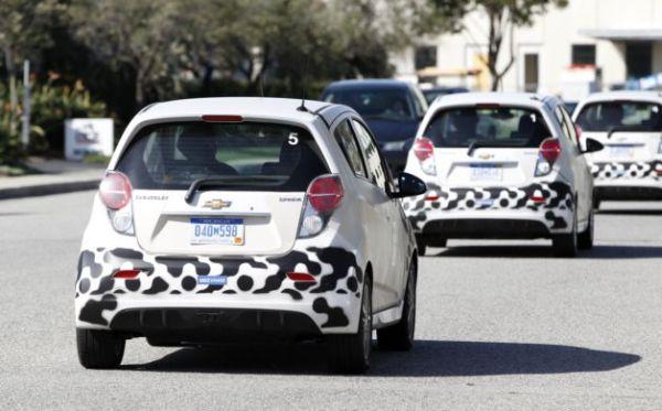 GM starts testing electric Chevrolet Spark