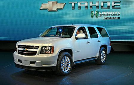 Gms Chevy Tahoe Hybrid Wins Green Car Of Year