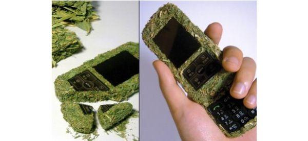 Grassy mobile phone