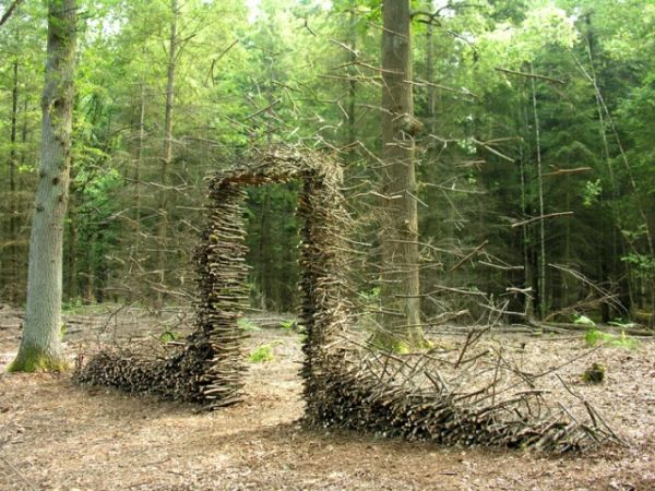 Gravity-Defying Land Art
