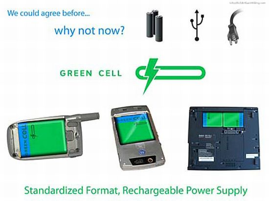 green cell 2 battery