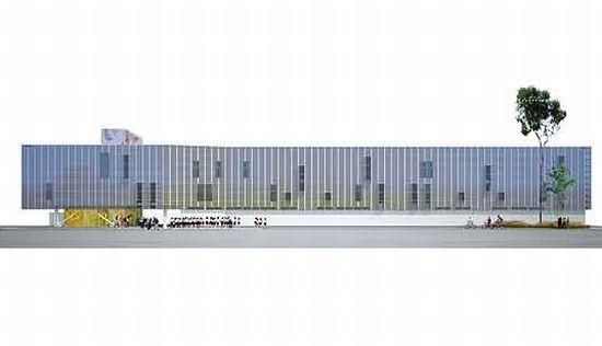 Pugh Scarpa Architects Green Dot School Building