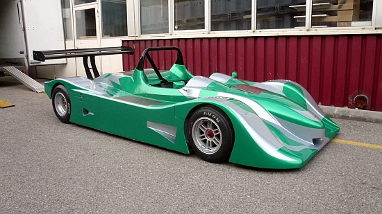Eco Cars Green GT Shows Allelectric Race Car At Energissima - Green cool cars